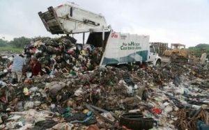 La basura, contaminación en villa Allende.