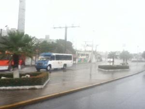 Chubascos se anuncian para hoy en Coatzacoalcos.